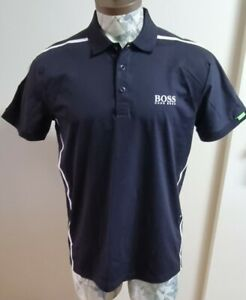 Mens Hugo Boss Martin kaymer Golf Polo Shirt Size Large 'Paddy Mk 2' Mint