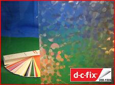 DC FIX Transparent 1m x 45cm Self Adhesive Vinyl Contact Paper Privacy Film 1506