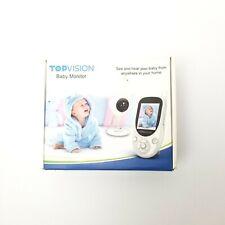 Topvision Baby Monitor infrared LED night vision 1000 ft. 2 way talk lullaby