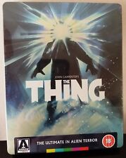 THE THING Blu-Ray John Carpenter Arrow UK Exclusive Limited Edition STEELBOOK