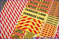 1/14 14th Scale Truck Safety Warning Decals Scania Tamiya Volvo Wedico Hauler
