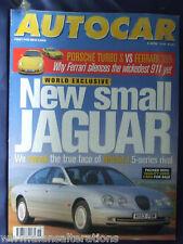 AUTOCAR Magazine 8th April 1998 Jaguar X200