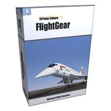 FlightGear Flight Simulator 2013 for Microsoft Windows PC MAC Software Program x
