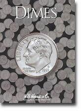 H.E. Harris & Co. Coin Folder  ***** Dimes ***** (No Dates) *****