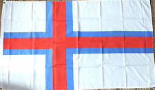 Faroe Islands 5x3 Flag Viking History Fishing Danish Danmark Færøerne Faroese