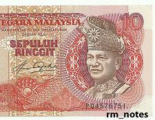 "MALAYSIA  RM10  BLINDMAN  Aziz Taha Last Prefix PQ_4576751  ""GEF"""