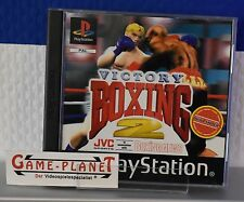 Victory Boxing 2 OVP Sony Playstation 1 P1 PSX Pone Neu mit Anleitung NEW BOX