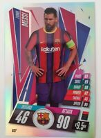 2020/21 Match Attax UEFA - Lionel Messi Extra Large XL card OS7 Barcelona