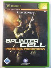 !!! XBOX CLASSIC SPIEL Tom Clancy´s Splinter Cell Pandora gebraucht aber GUT !!!