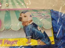Rubie's Pet Shop Boutique Halloween Costume Football Player Blue 20 Size XL