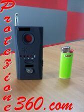 Rilevatore Microspie 6,5 GHz ambientali e gsm, localizzatori GPS cellulari spia