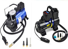 Tire Inflator Car Air Pump Compressor Portable Auto 12V DC 150 PSI Blue