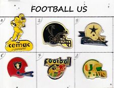 Lot 6 Pin's FOOTBALL AMERICAIN - FOOT US