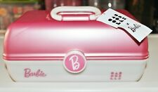 CABOODLES BARBIE MAKE UP CADDY BOX BRAND NEW WITH TAG PINK / PEARL LIMITED EDITI