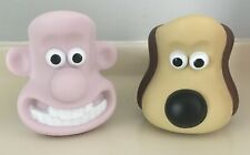 Wallace and Gromit egg cup and soldier racks 'Kingsmill' collectables