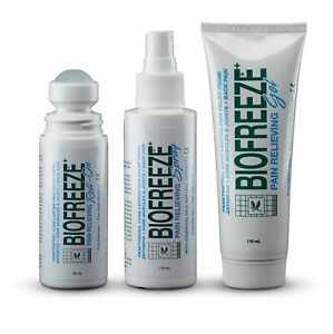 BioFreeze Pain Relief - Cold Therapy GEL, SPRAY, ROLL ON - MULTIBUY OPTIONS