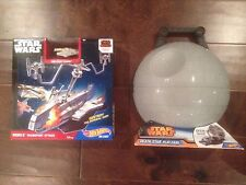 Hot Wheels 2015 Star Wars Death Star Play Case and Rebels Transport Attack Set