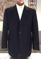 Stunning Gianfranco Ferre Mens Blue Dual Vent 3 Btn Suit Sz 44 R MINT!