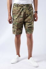 Mens Army Military Combat BDU Shorts Casual Fashion Camo Cargo Shorts