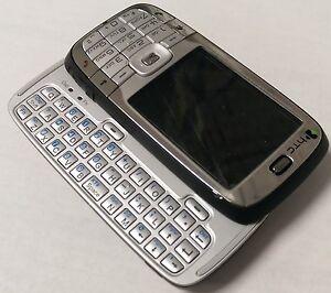 HTC S710 - Silver black Unlocked QUADBAND,CAMERA,WIFI,FUL KEYBORAD Smartphone.