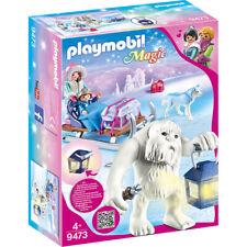 Playmobil Magic Yeti with Sleigh Playset & LED Lantern - 9473