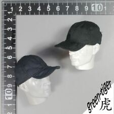 "1//6 Scale Set of 2 Red Cap Hat For 12/"" Action Figure"