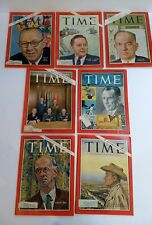 LOT 7 1965-66 Time Magazine Macy's, Joint Chiefs, Los Angeles, Rockefeller