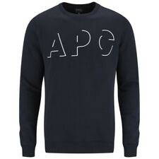 A.P.C. Spellout  Navy Blue Sweatshirt Size S Small RRP £140 Brand New apc