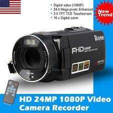 "Buyee 24MP 3.0"" LCD Touchscreen Digital Video Camera Camcorder DV Full HD 1080P"