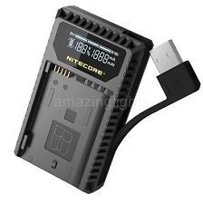 Nitecore UNK1 USB Travel Charger for Nikon EN-14, EL14a, & EL15 Batteries