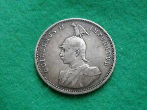 German East Africa One Rupie 1893 nice grade (SE-33)