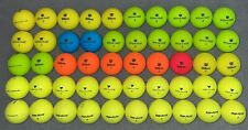 50 Wilson Duo Soft & Top Flite Colored Golf Balls Aaaaa See Description & Zoom!