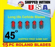 15x45 High Quality Roland Vinyl Cutter Plotter Blades Fast Shipping