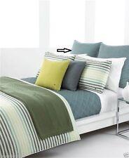 Lacoste Bedding Corduroy Euro Sham Slate Green