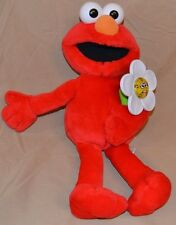 "16"" Elmo Loves You A Big Hug Flower Lights Up 2003 Mattel Fisher-Price Toys Doll"