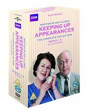 KEEPING UP APPEARANCES COMPLETE SERIES 1 - 5 NEW DVD BOX SET 8 Discs