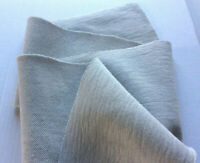 LIGHT GREY PURE COTTON REVESABLE DOUBLE JERSEY MADE IN ITALY FOR HUGO BOSS  D229