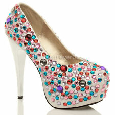 Unbranded Party Court Textile Heels for Women