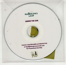 (HA589) Randolph's Leap, Under The Sun - DJ CD