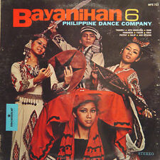 PHILIPPINE DANCE COMPANY Bayanihan 6 US Press Monitor MFS 723 LP