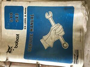 Bobcat 553  Workshop Service,repair Manual Book