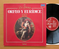 Gluck Orfeo Y Euridice Marilyn Horne Helen Donath Solti 1988 London 424 342-1 NM