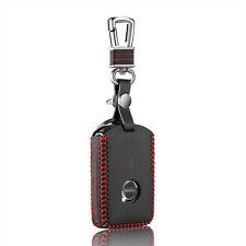 Leather Holster Car Key Case for Volvo S90 V90 2015 2016 2017 Key Cover Key Bag