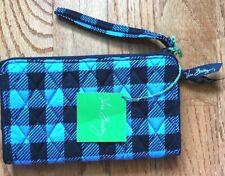 NEW Vera Bradley Front  Zip Wristlet Wallet Bar Purse Women Vera Bradley's
