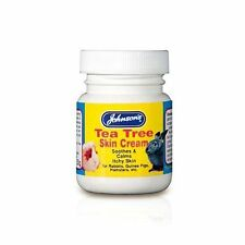 Johnson's Tea Tree Antiseptic Skin Cream for Rabbits Guinea Pigs Hamsters