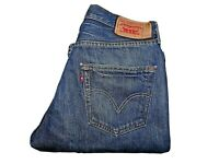 "LEVIS 501 Jeans Straight Leg Blue Denim SIZE W31 L32 Waist 31"" Leg 32"" LEVI 501"
