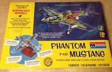 Monogram Phantom Mustang P-51D clear 1/32 airplane model kit new 67