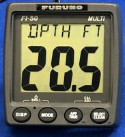 Furuno FI-504 Multi Instrument Repeater; NMEA 2000 Depth Speed Wind Display