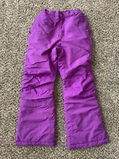 Land's End Kids The Squall Purple Snow Pants, size 10