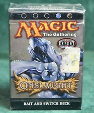 MAGIC THE GATHERING MTG ONSLAUGHT THEME DECK BAIT AND SWITCH FACTORY SEALED